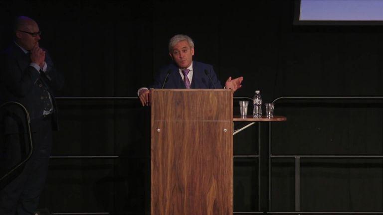 John Bercow speaks to students in Sheffield