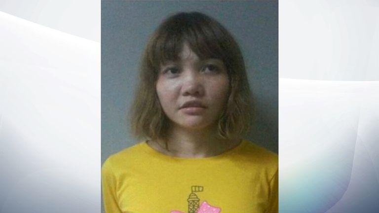 Vietnamese suspect Doan Thi Huang
