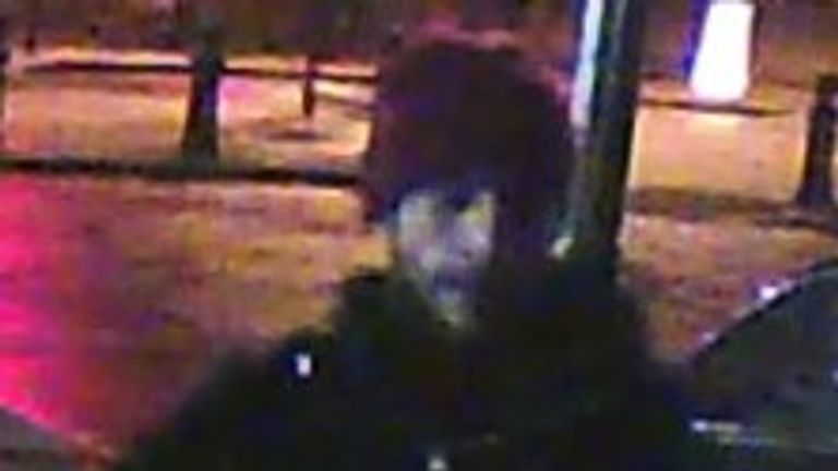 Jason February was caught on CCTV in the area where the raid took place