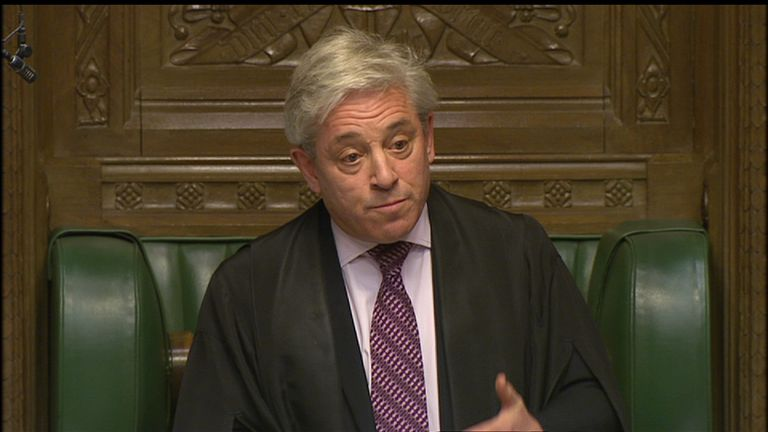 John Bercow said the travel ban made him more opposed to a visit by the new US President