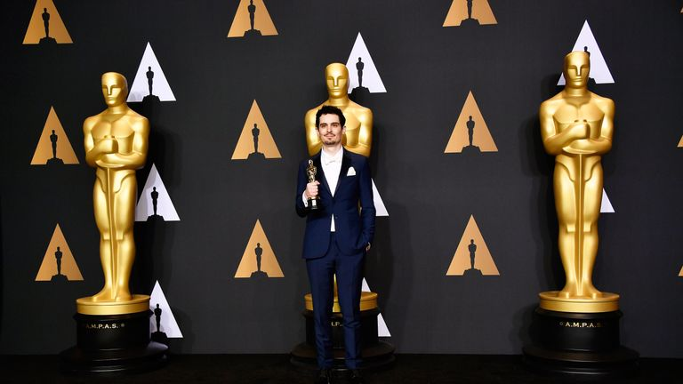 Best Director: Damien Chazelle, La La Land