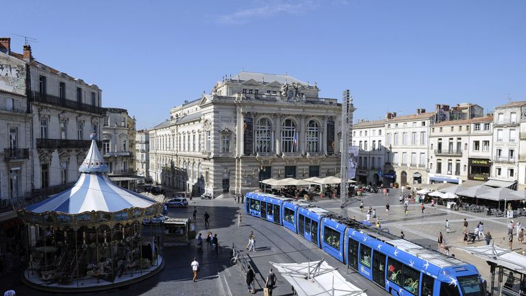 The arrests were made in the southern French city of Montpellier