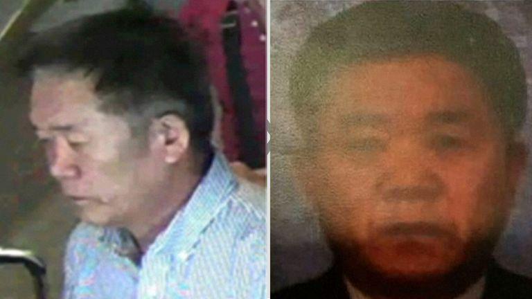 North Korean suspect Ri Jae Nam