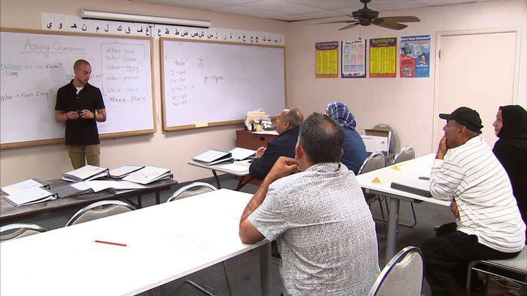 English lessons at Iraqi American Society