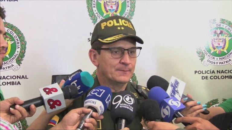 Cali police chief Hugo Casas described him as a 'really dangerous person'