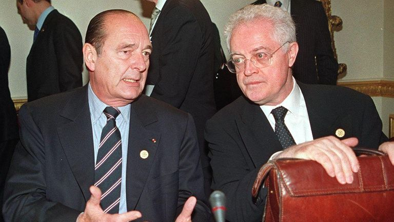 Cohabitation: President Jacques Chirac and Prime Minister Lionel Jospin