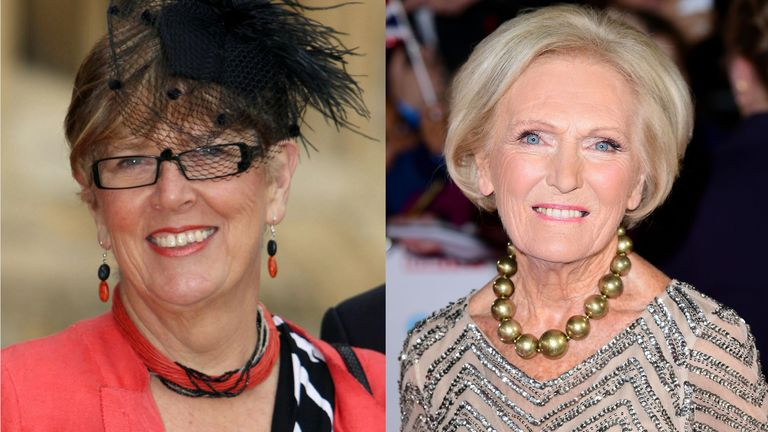 Prue Leith is tipped to replace Mary Berry later this year