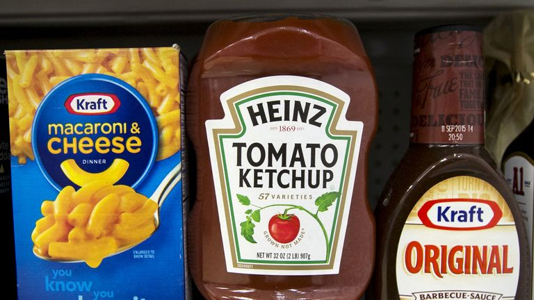 Kraft Foods and Heinz merged in 2015