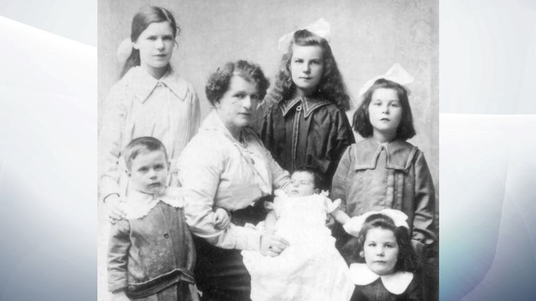 Albert Ford was survived by his wife Edith and their six children