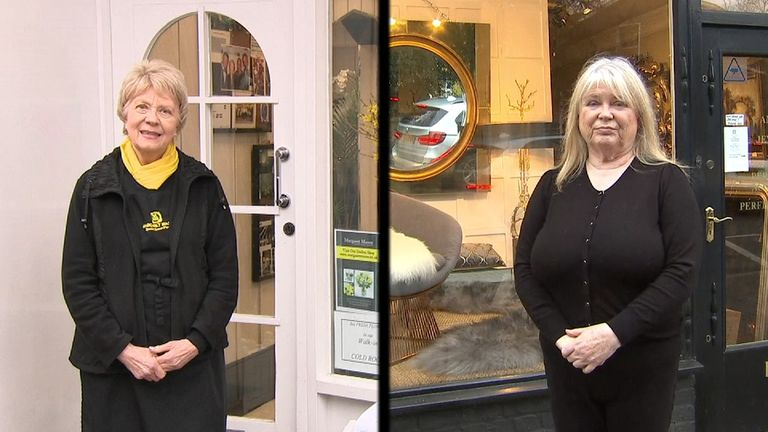 Sky's Beth Rigby speaks to shop keepers about the business rates changes