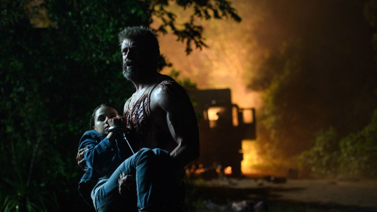 Jackman plays a washed-out mutant reluctantly responsible for a young girl