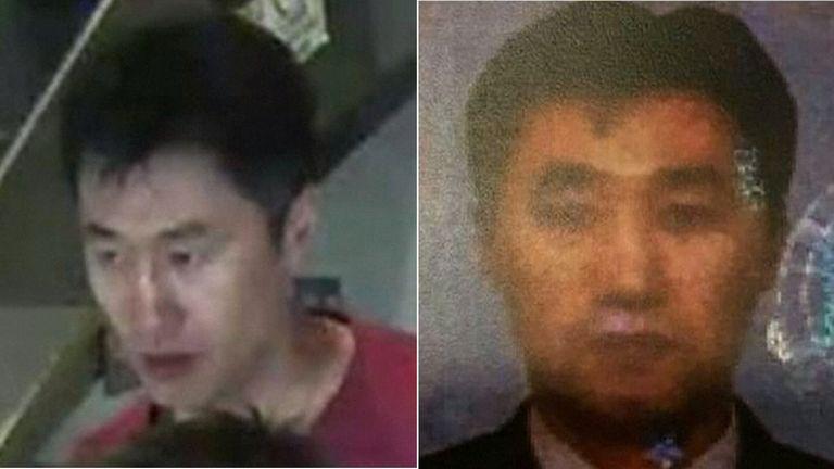 North Korean suspect Hong Song Hac
