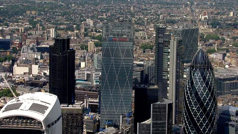 The Leadenhall Building is nicknamed the Cheesegrater