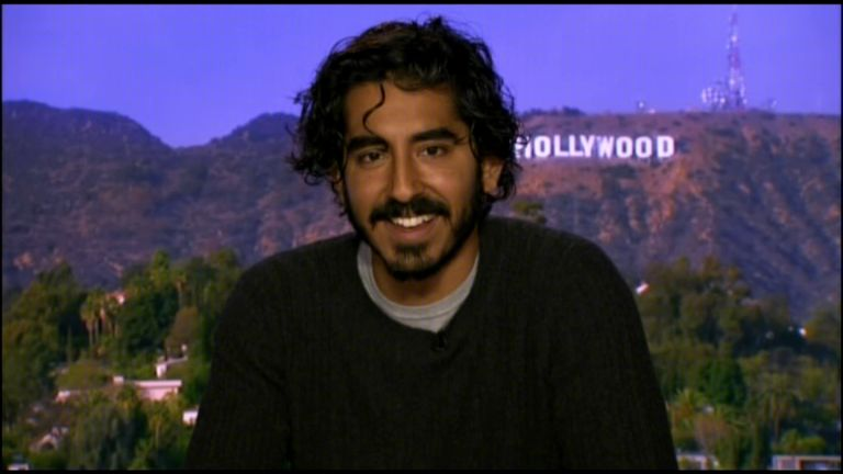Dev Patel is promoting the Oscar-nominated film Lion