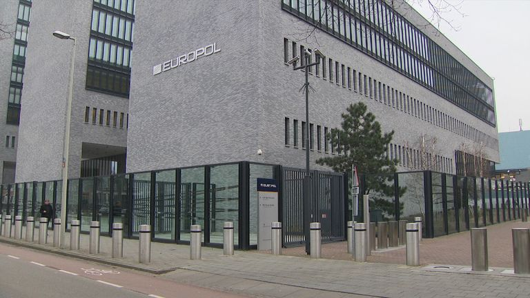 Europol's HQ is in The Hague