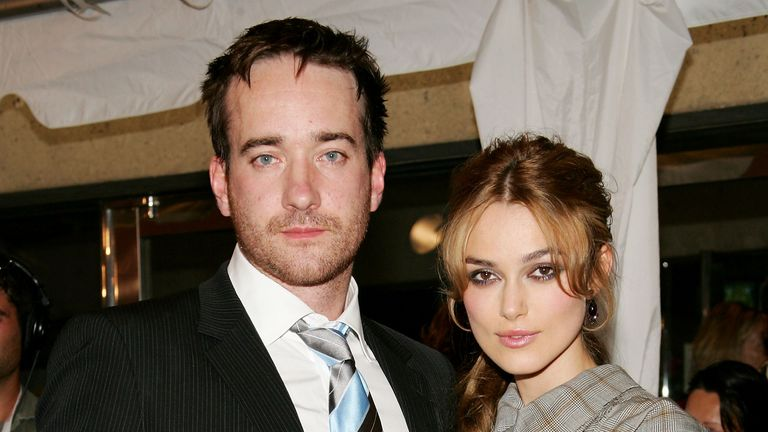 Matthew MacFadyen, here with Keira Knightley, played Mr Darcy in a 2005 movie