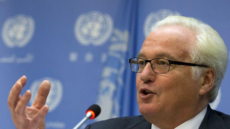 Vitaly Churkin has been Russian ambassador to the UN since 2006