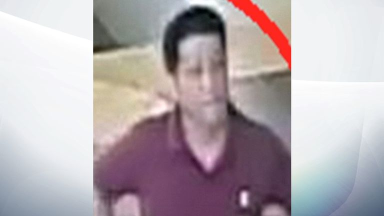 Unidentified suspect
