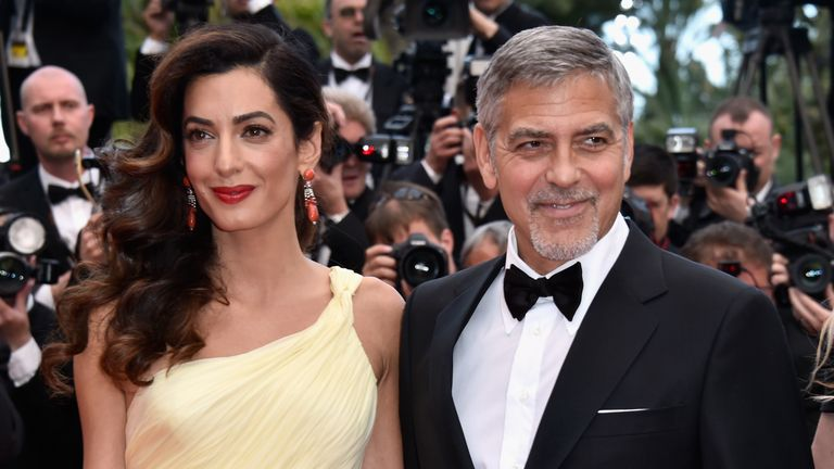 George and Amal are expecting twins