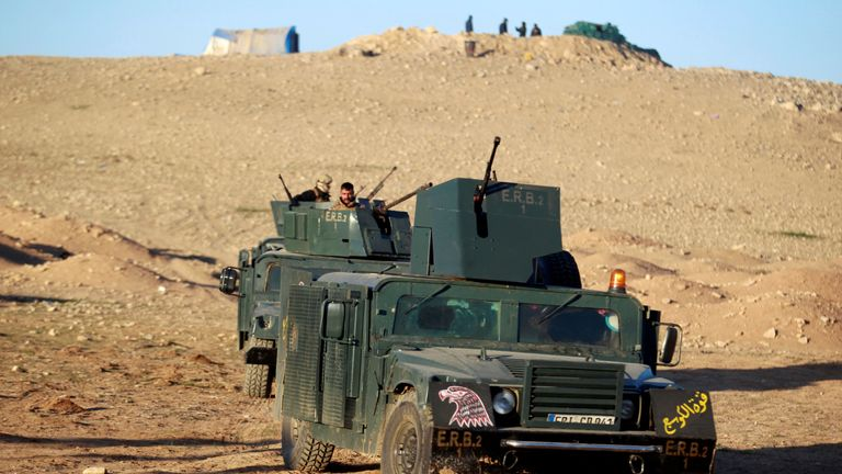 Iraqi forces advance towards west Mosul