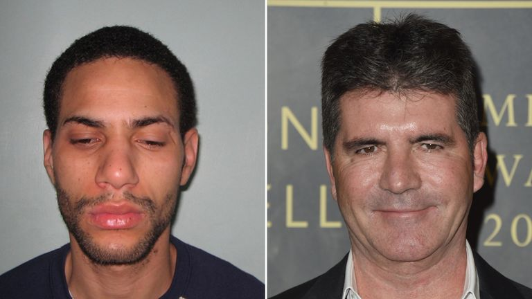 Darren February broke into the home of Simon Cowell and stole jewellery