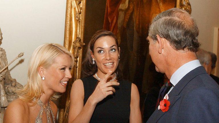 Tara Palmer-Tomkinson and Prince Charles