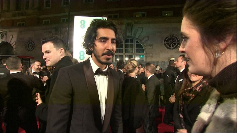 Lion actor Dev Patel