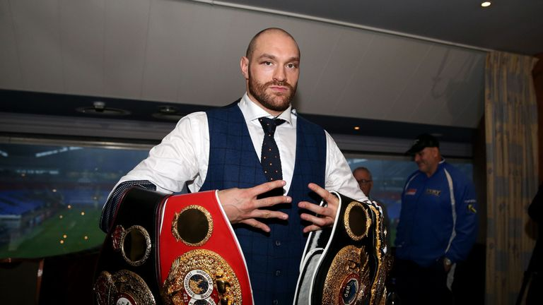 Tyson Fury sparked anger after making homophobic comments