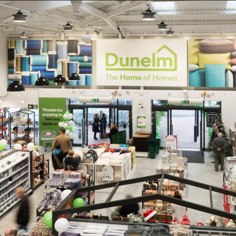 A Dunelm store