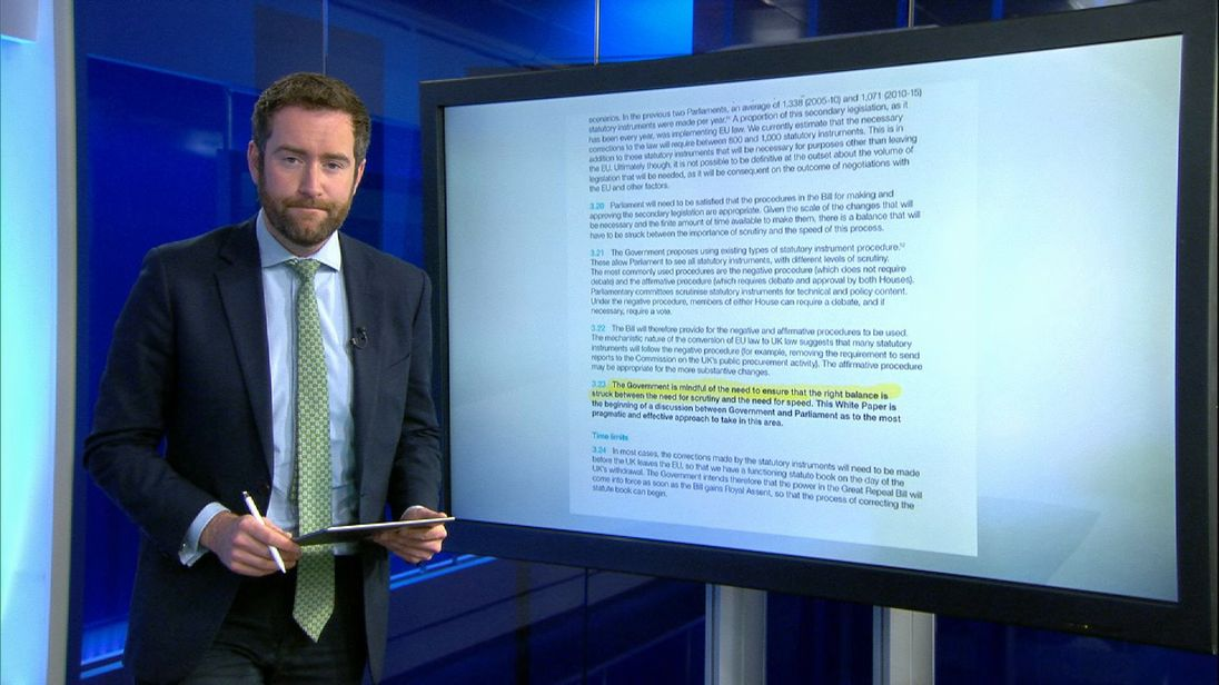 Political Correspondent, Darren McCaffrey takes a closer look at the government's bill.