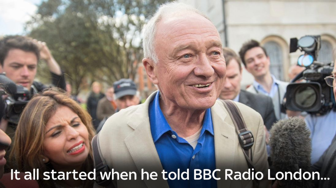 Ken Livingstone caused outrage when he suggested Hitler was a supporter of Zionism