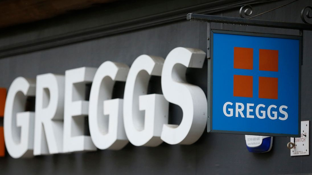 Colin Gregg helped to build up the famous Greggs brand