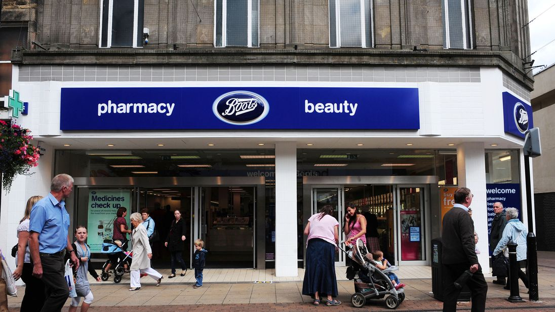 A general view of the former Woolworths store, now occupied by Boots the Chemist in Harrogate, North Yorkshire.