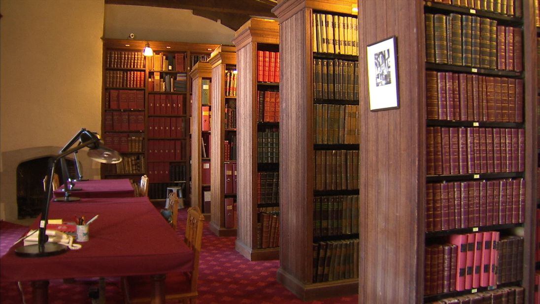 The Royal Archives are kept in the Round Tower at Windsor Castle