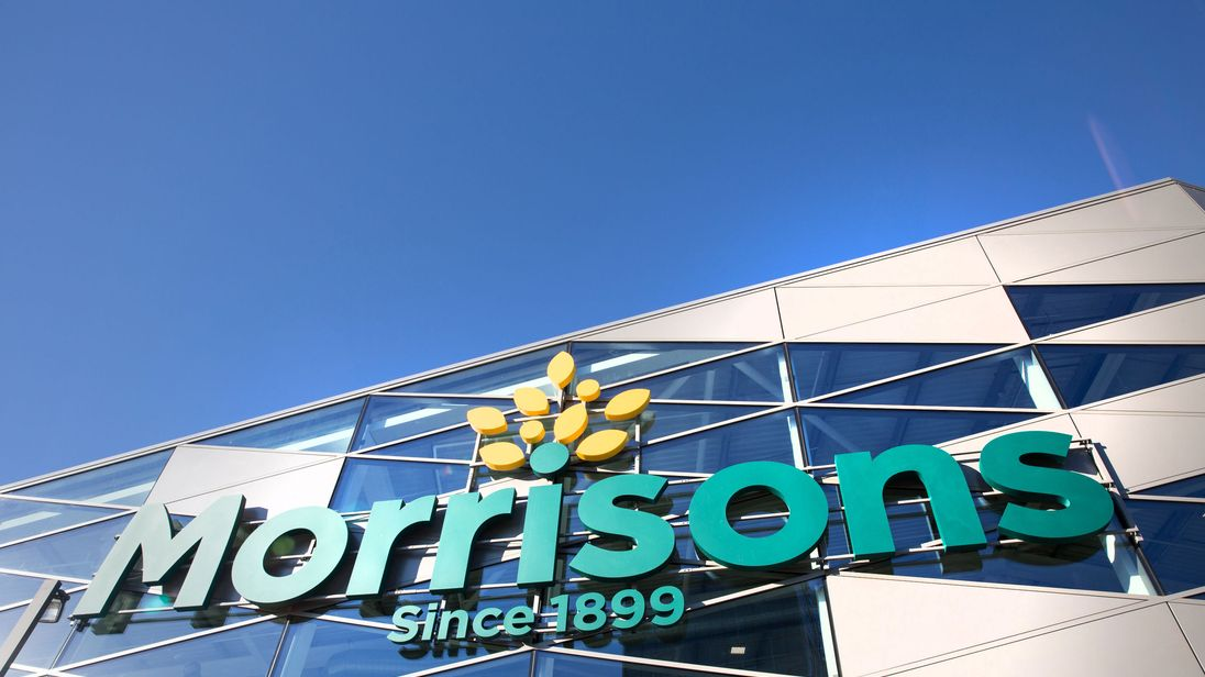 Morrisons reports sales jump for Christmas and New Year's period