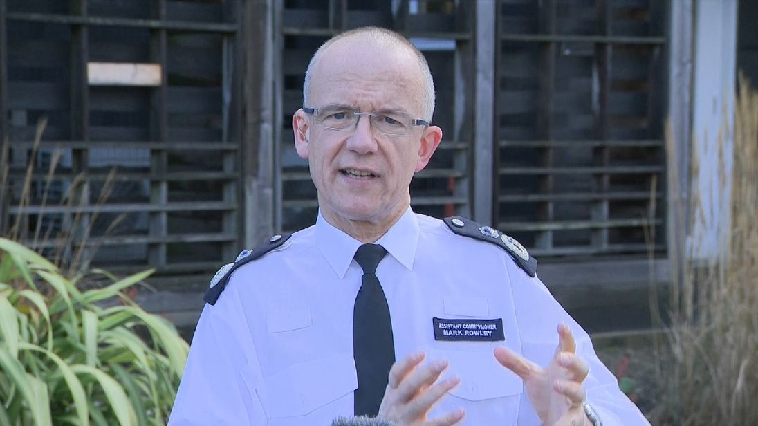 The UK's most senior counter-terrorism police officer, Met Assistant Commissioner Mark Rowley