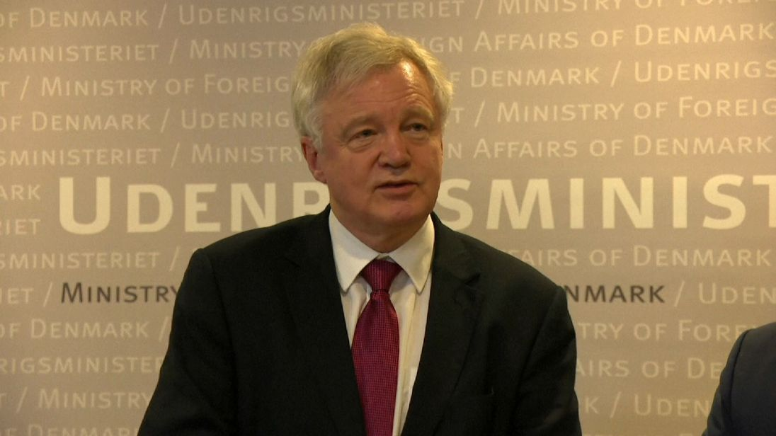 Brexit Secretary, David Davis