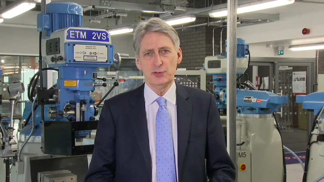 Philip Hammond defends his Budget