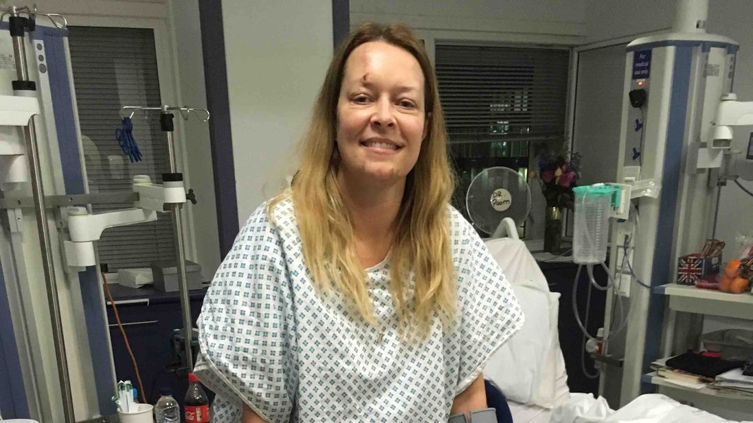 Westminster terror attack victim Melissa Cochran in hospital