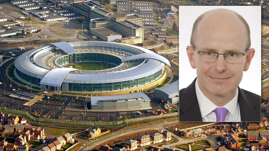 Jeremy Fleming new GCHQ director