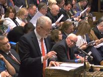 Jeremy Corbyn replies Theresa May's announcement