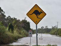 Flooding from Burdekin River which has risen some 10 metres in Ayr in Queenland