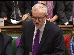 Jeremy Corbyn has accused the Government of 'utter complacency' over the Budget