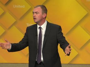 Tim Farron compared Theresa May to Donald Trump and Vladimir Putin