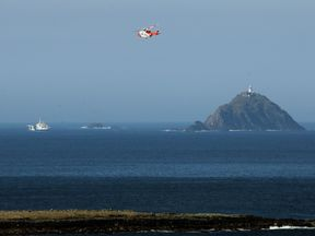 The crewman's body was recovered off Blackrock island