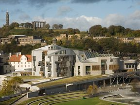 Holyrood was suspended during the London terror attack