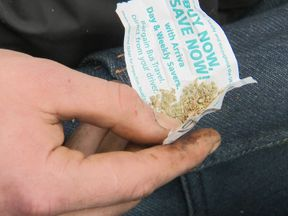 Spice, a chemically made synthetic marijuana