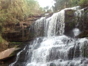 Kintampo waterfalls is a popular tourist spot. Pic: Dieu-Donné Gameli