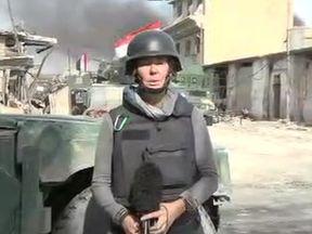 Alex Crawford live from Mosul