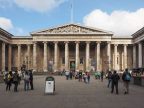 The British Museum suffered a 5.9% drop in visitors during 2016. File pic